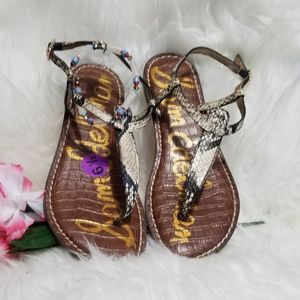 Sam Edelman Gigi T- Strap flat sandals